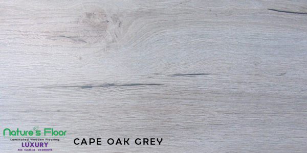 Cape Oak Grey Luxury range laminated wood flooring