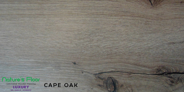 Cape Oak sample colour laminated flooring