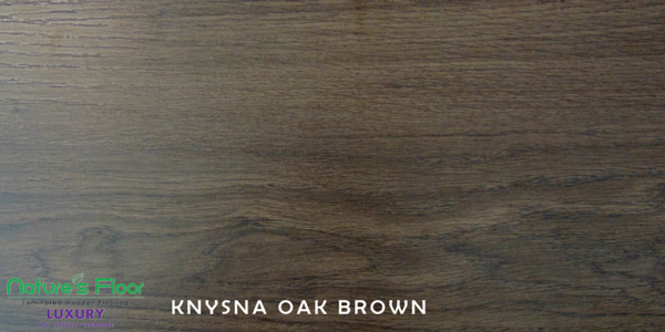 Knysna Oak brown sample for laminated wood flooring installed in Pretoria