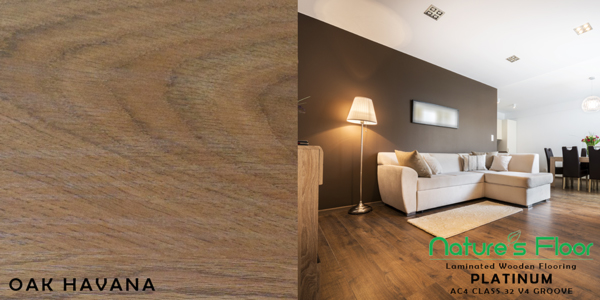 Oak Havana sample for laminated wood flooring suppliers Pretoria
